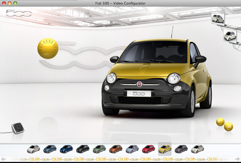 Fiat500 konfigurator