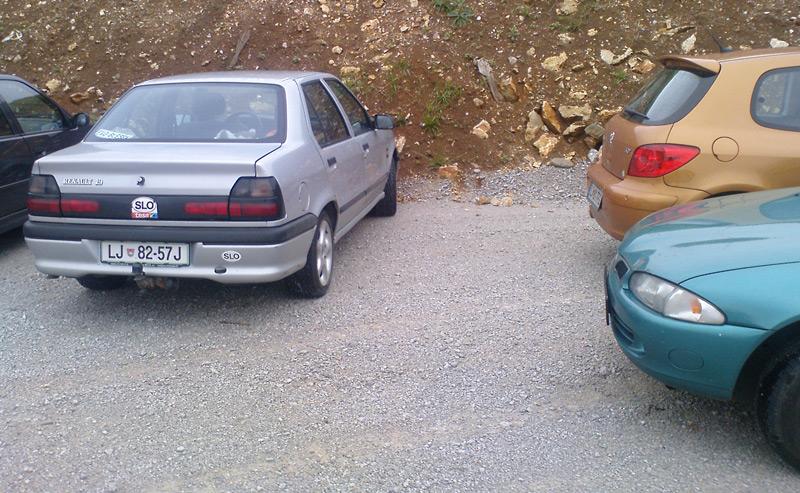 Zaparkiran sem